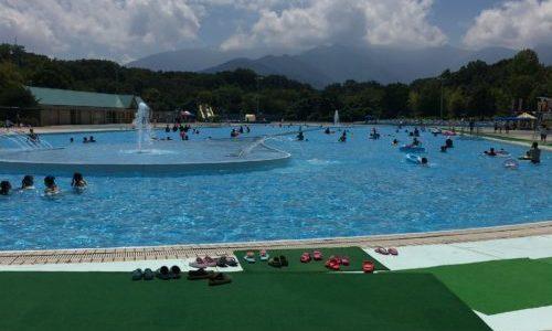 【埼玉・プール】秩父ミューズパークのプールで泳いできました!!